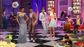 Танцы на «Роскошной вечеринке» в Симс 4