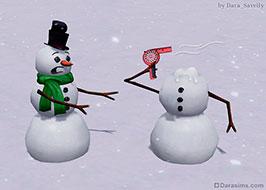 [The Sims 3] Снеговиковое самоубийство