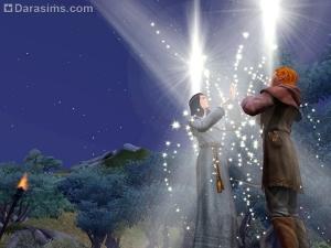 Квест «Эволюция шиншилл» в Симс Средневековье. Второй подход: кузнец и петерианский священник