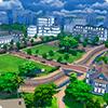 Новый город Ньюкрест в The Sims 4