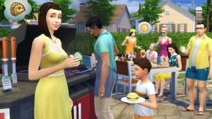 Гриль и бар в sims 4 внутренний дворик