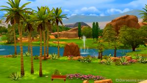 Оазис Спрингс в The Sims 4 DaraSims