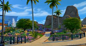 Игровая площадка в Оазис Спрингс DaraSims