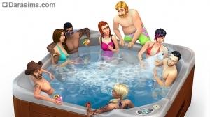 8 причин, почему джакузи из каталога The Sims 4 Внутренний дворик — просто класс!
