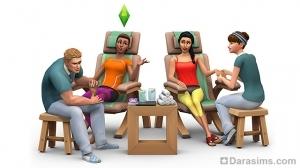 Новый игровой набор «The Sims 4 День спа» выйдет в этом месяце!