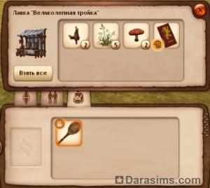 Багаж торговца в Средневековье