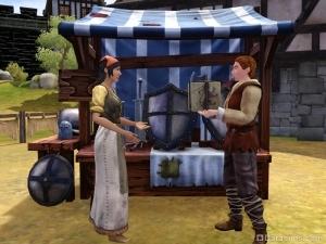 Рынок в Симс Средневековье