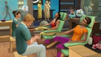 Спа-салон в наборе The Sims 4 Spa Day