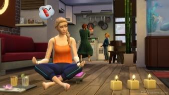 Медитация в наборе The Sims 4 День спа