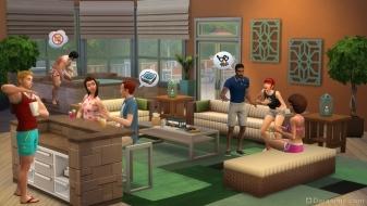 Каталог The Sims 4 Внутренний дворик