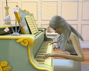 Игра за роялем