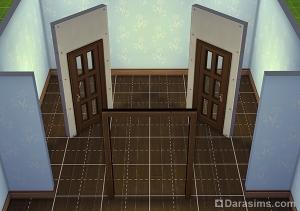 Диагональные двери