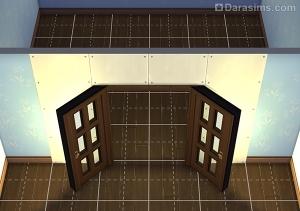Готовая открытая дверь