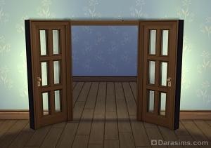 Двойная дверь в Симс 4