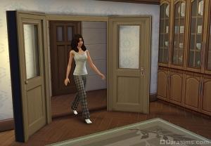 Симы ходят через двери