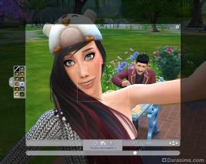 Как подобрать ракурс для селфи в Sims 4