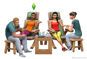Набор The Sims 4: День спа