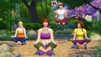 Медитация и левитация в «Симс 4 День спа»