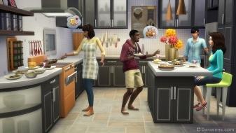 Каталог «Симс 4 Классная кухня»
