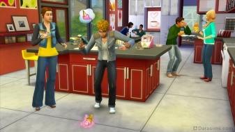 Казус с рожком в каталоге The Sims 4 Классная кухня
