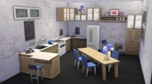 Содержание кухонного каталога The Sims 4 Cool Kitchen
