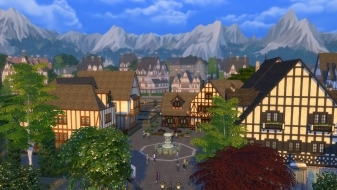 Город Винденбург из «The Sims 4 Веселимся вместе»