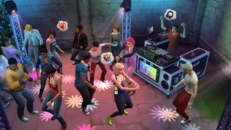 Вечеринка в клубе с ди-джеем в «The Sims 4 Веселимся вместе»