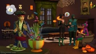 Каталог «Симс 4 Жуткие вещи» для Хэллоуина