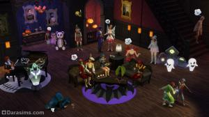 Каталог The Sims 4 Жуткие вещи. Как построить дом ужасов #SpookyHouse