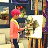 Навык рисования в The Sims 4