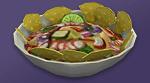 Севиче с чипсами