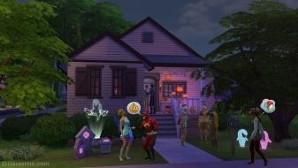 Страшное украшение дома в каталоге «The Sims 4 Жуткие вещи»