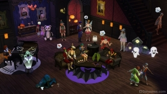 Хэллоуин с каталогом «The Sims 4 Жуткие вещи»