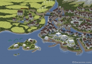 Как мы строили Винденбург в The Sims 4
