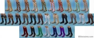 обувь sims 4