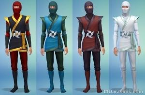 мужские костюмы в симс 4 жуткие вещи