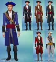 мужские наряды симс 4