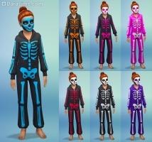 костюм скелет в каталоге Жуткие вещи