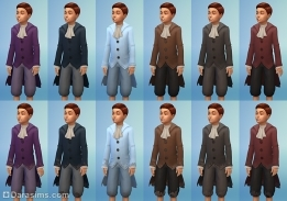 костюм аристократа