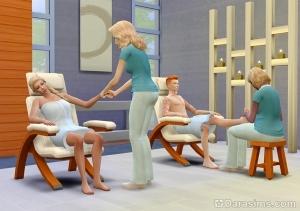 Спа-процедуры: массаж рук и ног