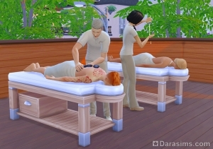 Спа-процедуры: массаж спины