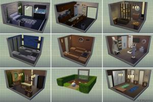 Новые комнаты в режиме строительства