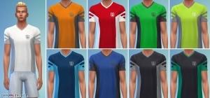мужские футболки в Симс 4 День Спа
