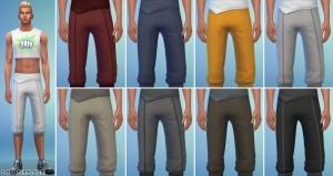 Мужские спортивные штаны sims 4
