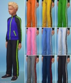 детские спортивные штаны унисекс