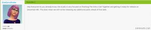 Новых игровых наборов в The Sims 4 пока не будет!
