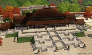 Залы потерянной армии в Симс 3 Мир приключений