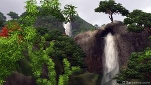Природа Шанг-Симлы в Симс 3 Мир приключений