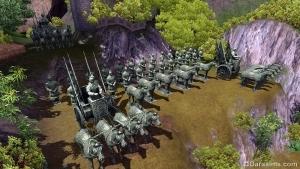 Терракотовая армия в The Sims 3 World Adventures