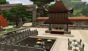 Императорская площадь в Симс 3 Мир приключений